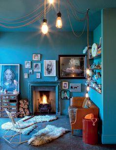 Un salon avec cheminée: nos idées déco - Marie Claire Maison