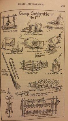 Camp Improvements 1 - Handbook for Patrol Leaders 1949: