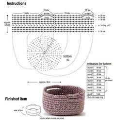 Marvelous Crochet A Shell Stitch Purse Bag Ideas. Wonderful Crochet A Shell Stitch Purse Bag Ideas. Crochet Bowl, Crochet Shell Stitch, Crochet Basket Pattern, Love Crochet, Crochet Gifts, Crochet Motif, Crochet Hooks, Crochet Patterns, Learn To Crochet