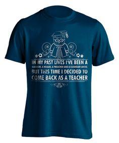 Come Back As A Teacher T-Shirt