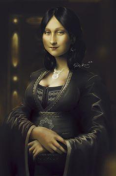 0525 [Mehdi Kanissi] Realistic Moroccan Monalisa