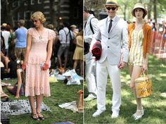 style at The Jazz Age Lawn Party-Fun! Roaring 20s Party, 1920s Party, Roaring Twenties, 1920s Glamour, Glamour Party, 20s Fashion, Party Fashion, Vintage Fashion, Jazz Age Lawn Party