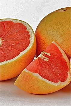 Grape Fruit!! Does wonders for skin