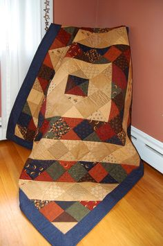 Quilt Harvest Moon by Moda Hand Quilted by chimeracustomquilts, $299.00