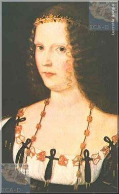 Lucrezia Borgia, (18 April 1480 – 24 June 1519) was the daughter of Pope Alexander VI and Vannozza dei Cattanei.