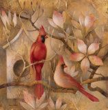 Art Print: Elegance in Red Art Print by Elaine Vollherbst-Lane by Elaine Vollherbst-Lane : Frames For Canvas Paintings, Framed Canvas Prints, Framed Artwork, Wall Art Prints, Painting Canvas, Bird Sketch, Sketch 4, Teal Art, Ganesha Painting