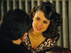 Sira Quiroga vestido negro fiesta. El tiempo entre costuras. Capítulo 9 http://www.pinterest.com/pin/318840848590941247/
