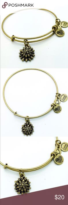 """Alex and Ani Sacred Garden- Water Lily EWB RG New without Tags!!                                                                                               Pictures by me!                                                                               ALEX AND ANI products are proudly designed&crafted in America&made with love. ALEX AND ANI products are infused with positive energy. Ancients referred to this precious energy as """"chi"""" & """"prana,"""" whereas modern science refers to it as vital…"""