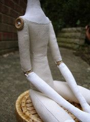Jointed Cloth Doll | by Verity Hope www.VerityHope.com