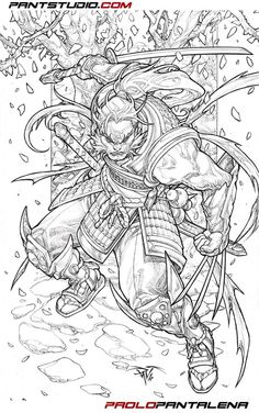 Marvel Comics: Wolverine by Paolo Pantalena * Comic Book Artists, Comic Book Characters, Marvel Characters, Comic Artist, Comic Books Art, Character Art, Character Design, Samurai Artwork, Art Anime