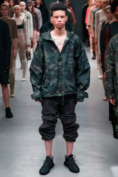 Kanye West x Adidas Originals - Fall 2015 Ready-to-Wear - Look 47 of 50