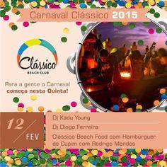 classicobeachclub - Tudo pronto para o melhor carnaval do Rio! #DayParty #Sunset #BeachClub #BeachParty #classicobeachclub #carnaval2015 #carnavalRio #barradatijuca #praiadopepe #posto2 #postinho #carnaval