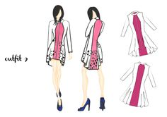 outfit 9 | design by Martina Picotti #fashion #illustration