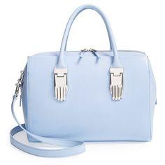 Women's Opening Ceremony 'Lele Handbag' Satchel ($705) ❤ liked on Polyvore featuring bags, handbags, satchel style handbags, satchel bags, satchel purse, satchel handbags and round purse