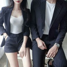 Korean Fashion – How to Dress up Korean Style – Designer Fashion Tips K Fashion, Fashion Couple, Ulzzang Fashion, Fashion Outfits, Fashion Ideas, Seoul Fashion, 2000s Fashion, Korea Fashion, French Fashion