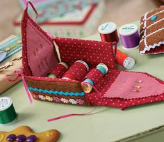 Gingerbread House Sewing Box