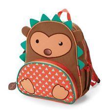 Skip Hop Zoo Pack Little Kid Backpack, Hedgehog