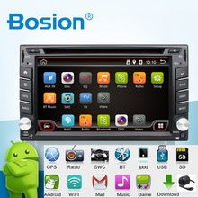 Car Electronics Android 4.4 2 din Universal Car DVD Video Multimedia Player GPS Navigation Audio Radio Stereo, Bluetooth,SWC TV