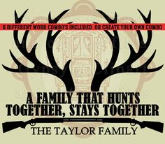 Grab your Hunting SVG, Deer SVG, Antlers, guns, Welcome Sign, Family Name Crest,