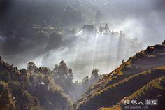 金坑晨雾 - 风姿摄影 - 桂林人论坛 - 桂林生活网