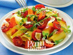 #Przepis na makaron z salami i pomidorami #smakpodlasia #salami #tradycyjnewedlizy #zdrowazywnosc #skleponline #przepisy