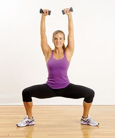 4 yoga poses with weights to help prevent injuries