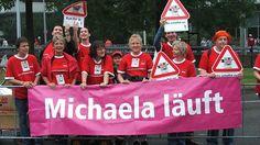 Michaela läuft... beim Köln-Marathon.