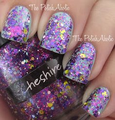 CrowsToes ~ Cheshire This is what my nails look like right now!!  Very Cool~~