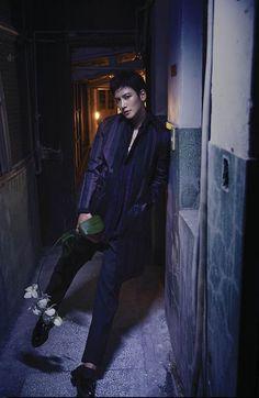 [Magazine] Ji Chang Wook goes dark for Men's Uno (updated with video) | Ji Chang Wook's Kitchen