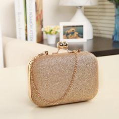 Cheap wedding purse, Buy Quality evening bags women directly from China women evening bag Suppliers: Woman Evening bag Women Gold Clutch bags Crystal Day Clutch Wallet Wedding Purse Party Banquet Gold Clutch, Clutch Wallet, Clutch Bags, Leather Clutch, Women's Clutches & Evening Bags, Bag Women, Wedding Purse, Chain Shoulder Bag, Shoulder Bags