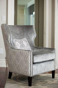 Instagram: @directinteriorsfurniture Interior Stylist, Interior Design, Wingback Chair, Ontario, Accent Chairs, Interiors, Furniture, Instagram, Home Decor
