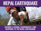 Bulletin insert: Nepal earthquake relief