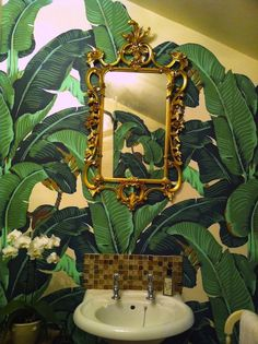 Charlotte Olympia Banana Leaf Accessories Inspired by Hinson Martinique Wallpaper