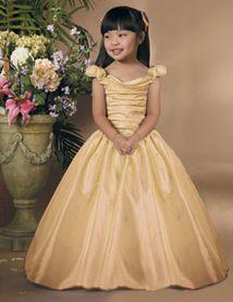 A Line Princess Off The Shoulder Floor Length Taffeta Flower Dress With Ruffle Sash
