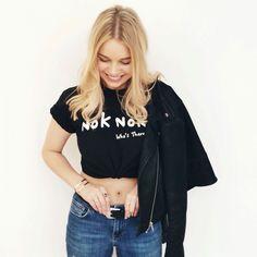 Gorgeous girl Jess Jenner loving her new Nok Nok London tee! Join the hype ✌️✌