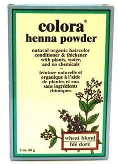 Colora Henna Veg-Hair Wheat Blonde 2 oz. (Case of 6) *** Check out the image by visiting the link. #hairinspiration