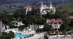 Hearst Castle - used to go with my Dad when he was a night guard here...spooky!