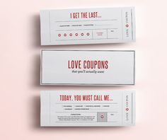 Fun Love Coupon Book - Gift for Her - 12 Funny Printable Coupons for Boyfriend / Girlfriend, Anniversary. DIY Valentines Gift for Him PDF