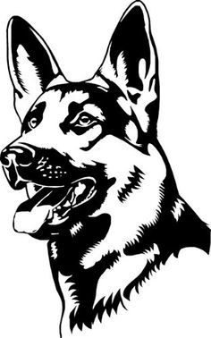 Wicked Training Your German Shepherd Dog Ideas. Mind Blowing Training Your German Shepherd Dog Ideas. Wood Burning Stencils, Wood Burning Patterns, Dog Stencil, Stencil Art, Stenciling, Dog Silhouette, German Shepherd Puppies, German Shepherds, German Shepherd Tattoo