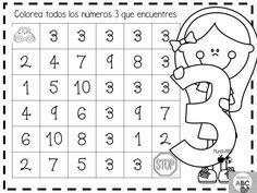 Creativas actividades para el trazo de los números del 1 al 5 para preescolar y primer grado de primaria   Educación Primaria 3rd Grade Math Worksheets, Homeschool Worksheets, Kindergarten Math Activities, Fun Worksheets, 1st Grade Math, Preschool Activities, Teacher Binder, Teacher Hacks, Google Math