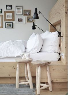 Budget Bedroom Decor Ideas - L' Essenziale Bedroom Decor On A Budget, Home Decor Bedroom, Bedroom Ideas, Cosy Bedroom, Scandi Bedroom, Master Bedroom, Sweet Home, Bedroom Styles, Plywood Furniture