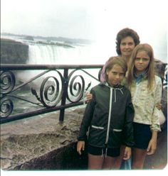 1977 back to the falls. That is an 11 year gap so not sure if I was there in between or not. The ice stays in the bottom til end of May!! You cant even take the Maid of the Mist til that time and it is a MUST DO..so make sure they are running before you go.