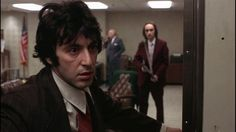 Released in the drama film Dog Day Afternoon was directed by Sidney Lumet and stars Al Pacino, Charles Durning and John Cazale. Dog Day Afternoon, Al Pacino, Charles Durning, Actors Images, 1975, Stanley Kubrick, Film Serie, Classic Films, Film Stills