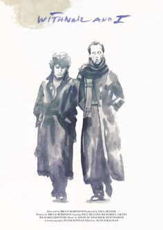 Tony Stella's poster for Bruce Robinson's Withnail and I (1987).