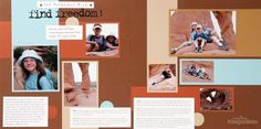 Create a layout with seven photos based on a sketch; Becky Higgins - Creating Keepsakes Creative Sketches, Vol. 2: scrapbook, sketch
