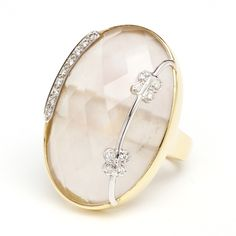 Miror with Butterfly Ring - House Collection See more on http://www.oleanajewelry.com/