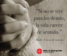 #oraciones #oración #religión #católica #Dios #amor #fe #frases #Jesús #MadreTeresa #TeresaDeCalcuta #bendiciones #bendición #confianza #esperanza #iglesiaquesufre #ayudaalaiglesiaquesufre #AIS #Colombia