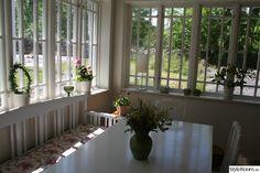 glass porch, window