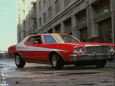 The Starsky & Hutch Ford Gran Torino.  I want one of these.