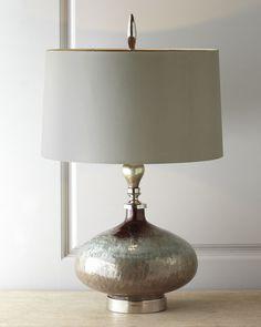 """Rainwater on Glass"" Table Lamp"
